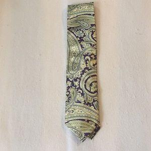 Men's Robert Talbott seven fold tie